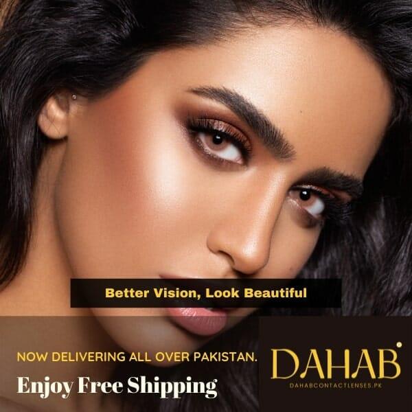 Buy Dahab Eye Contact Lenses in Pakistan – Gold | One Day | Platinum - DahabContactLenses.pk