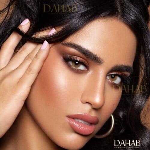 Buy Dahab Creamy Eye Contact Lenses - Gold Collection - dahabcontactlenses.pk