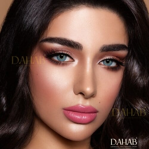 Buy Dahab Lumirere Blue Gray Eye Contact Lenses - Gold Collection - dahabcontactlenses.pk