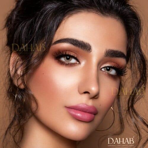 Buy Dahab Lumirere Brown Eye Contact Lenses - Gold Collection - dahabcontactlenses.pk