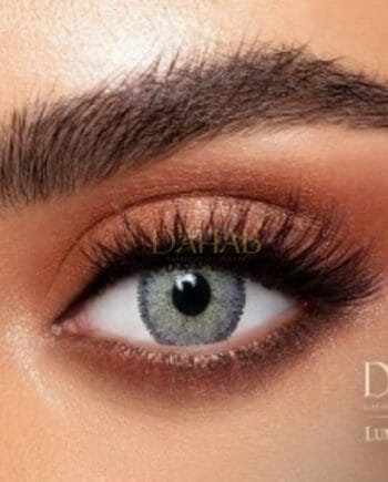 Buy Dahab Lumirere Gray Eye Contact Lenses - Gold Collection - dahabcontactlenses.pk