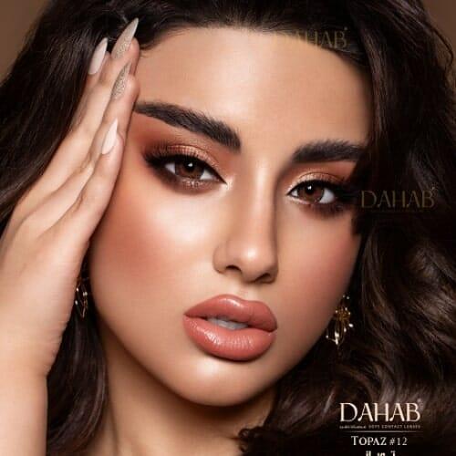 Buy Dahab Topaz Eye Contact Lenses - Gold Collection - dahabcontactlenses.pk